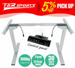 Motorised Height-Adjustable Sit Stand Desk Frame $239.99 + Free Delivery Most Locations (Excl SA/WA) @ T&R Sports via eBay