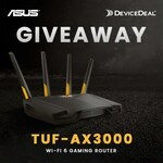 Win a ASUS TUF-AX3000 Wi-Fi 6 Gaming Router Worth $449 from DeviceDeal