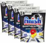 192pc Finish Powerball Quantum Ultimate Pro Tablets for Dishwasher Lemon Sparkle $65 Delivered @ KG Electronic via MyDeal