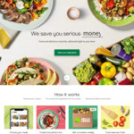 $70 off First Box, $20 off Second and $10 off Third Box + $9.99 Delivery @ HelloFresh