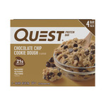 Quest Protein Bars 4x60g (Choc Chip Cookie Dough or Cookies & Cream) $7.50 @ Coles