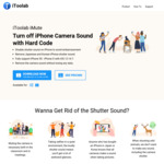 [PC, Mac] iToolab iMute (Turn off iPhone Camera Shutter Sound Effect) Lifetime Licence $9.95 @ iToolab Software