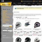 Shark Race -R Helmet with Iridium Visor $399 at Team Moto [QLD] in Store Only
