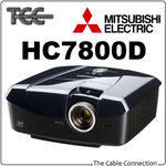 Mitsubishi HC7800D 3D Full HD Theatre Projector $1999 with Free Shipping Australia Wide