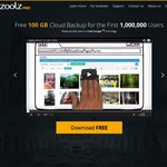 Zoolz: Free 100GB Cloud Backup for The First 1,000,000 Users $0