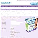 CleverWhite FREE Teeth Whitening Sample Limit 1 Per Customer