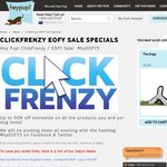 [Click Frenzy] Up to 50% off Store Wide at Hey Pup! Dog Beds, Toys, Collars, Coats and More!