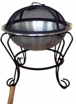 """Stainless Steel Fire Pit 19"""" $45 + Shipping ($9 Vic) or Free Pickup"""