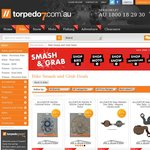 Torpedo 7 Smash and Grab Sale