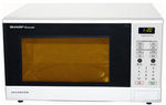 Sharp Microwave Oven White 1200W R341ZW $120 (Save $82) @ Masters & Bonus Cookbook by Redemtion