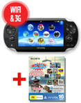 PlayStation Vita 3G + 16GB Mega Pack (Inc. 16GB Mem Card and 10 Games) - $199 - Mad Monday Sale