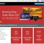 Sony Boxing Day Sale: 25% off Headphones, 25% off Walkman Range