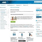 Open ANZ Access Advantage Account, Deposit $2000 and Get $100 [NSW & ACT]