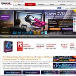 CyberLink PowerDVD 13 Family 40% off - Ultra $64.95 until April 7