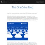 Unlimited OneDrive Storage FREE for All Office 365 Subscribers