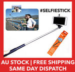The Selfie Stick (Compatible with Most Smartphones) - $10 - Free Shipping Australia-Wide via eBay (Hypop)