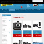 Olympus OMD E-M5 Grip Kit (Black) for $497, Delivery Approx $16 @ Leederville Cameras