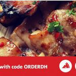 Delivery Hero $15 off Any Order over $20 (Tonight Only)