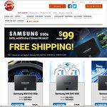 Samsung 850 EVO M.2 & Msata 120GB $105ea Shipped + More @ Shopping Express