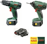 Bosch 18V Li-Ion Combo: Impact Drill + Driver + 2 Batteries $199 Bunnings (Separate $369)