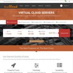 On a Cloud - Virtual Cloud Servers (VPS) - Introductory Special - 50% off Your 1st Invoice