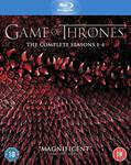 [Amazon UK] Game of Thrones Season 1-4 Blu-Ray for $87.24 Delivered (Approx)