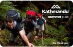 FREE: Kathmandu Summit Club Membership (Save $10) and 50% off Selected Clothing
