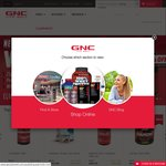 GNC 50% off Everything + Free Shipping