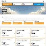Tigerair Sale (Limited Seats) Syd↔Coffs $19, Mel↔Syd $29, Syd↔Cairns $29 (Jetstar $26)