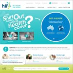 $50 EFTPOS Card - Free When Signing up to HIF Health Insurance