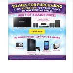 """Win 1 of 4x Sony 48"""" + 5.1 System, or 1 of 16x Prizes (PS4 etc) - Spend $20 on Kids DVDs @ Big W"""