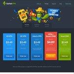 CactusVPN - VPN + SmartDNS - 54% off - US $38.49 (~AU $52.12) Annually
