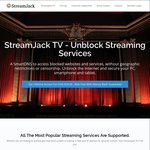 StreamJack TV - Lifetime Subscription - 96% off - US $29 (~AU $38.38) Update: Not Working with Netflix