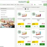 Woolworths Homebrand Nappies 44-56 Pack $5 (Save $6)