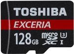 Toshiba 128GB Exceria U3 MicroSDXC £26.94 (~AU $48) Delivered @ MyMemory