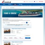 Carnival Cruise Line - Kids Sail Free with Paying Adult