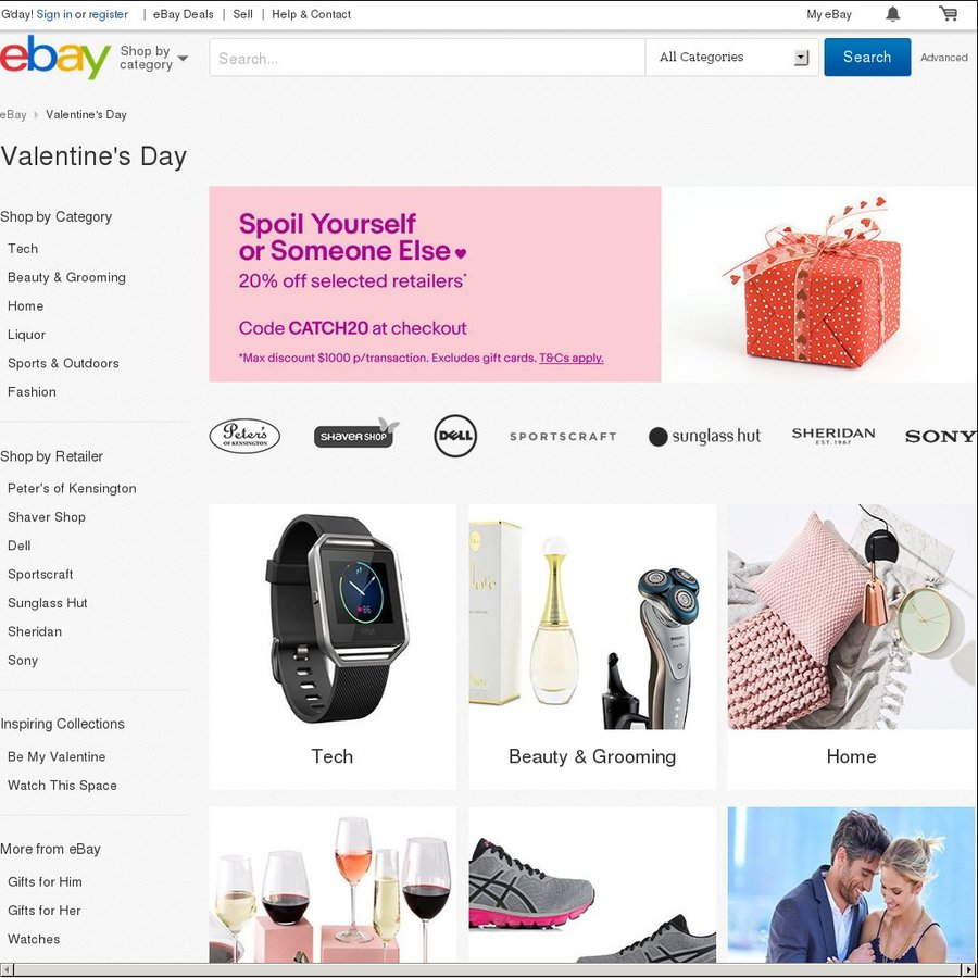 20 Off Selected Retailers Sony Futu Grays Amcal Jeanswest Harvey Norman Pc Byte More Ebay Page 3 Ozbargain