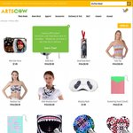 Customised Merchandise for US $1 Delivered @ ArtsCow