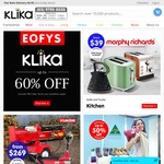$20 off $150+ Spend @ Klika  Today Only
