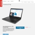 "ThinkPad E570p / 15.6"" FHD / i5-7300HQ / 8GB RAM / 128GB SSD / GTX1050ti 2GB / $1077 Delivered / 50% off All Warranties @ Lenovo"