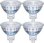 Philips 5W LED MR16 Warm White Globe 4 Pk $17.40, GU10 $18.90 @ Bunnings (Was $34.95)