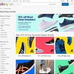 15% off Sneakers/Shoes from Selected Sellers @ eBay