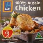 ALDI Fresh Whole Chicken $3.00 Per Kg (Was $3.79)