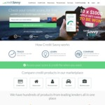 FREE Monthly Credit Score (Experian) @ Credit Savvy