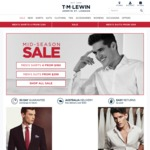 T.M. Lewin 25% off Store Wide on 20/09 - Online and Instore