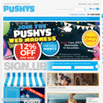 12% off Storewide at Pushys