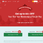 [FotoJet Official] 66% OFF Coupon - $26.12 AU for The First Year FotoJet Subscription before Jan 2nd, All-In-One Graphics Apps