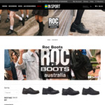 Up to 25% off all ROC Boot School Shoes + FREE SHIPPING @ Insport.com.au
