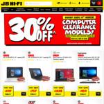 "30% off Selected Computers @ JB Hi-Fi, eg. HP 14-BP045TX 14"" Laptop [i5] $697"