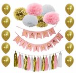 Birthday Party Decorations Set $6.99 Shipped @ B&D Party (Amazon AU)